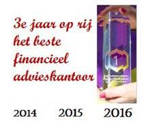 Independer hypotheekprijs Beste kantoor 2014 en 2015 en 2016